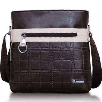 L-Brown กระเป๋าสะพายข้างผู้ชาย