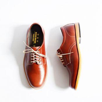 Oxford Low-Cut OilBrown รองเท้าหนังคัชชู