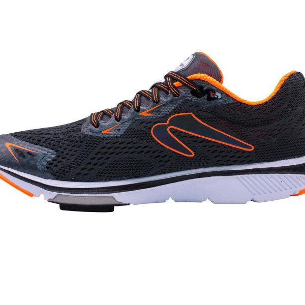 Men's Gravity VIII B - Neutral Mileage Trainer  (CHARCOAL/ORANGE) POP 1
