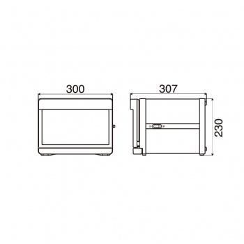 ตู้อบผ้าร้อนสีขาว รุ่น TAIJI HC-6 (W)