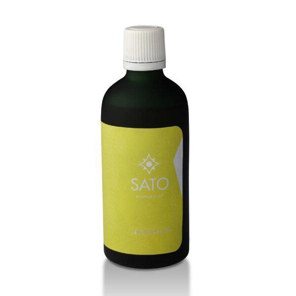 อโรม่า น้ำหอม กลิ่น ตะไคร้หอมปรุง Lemongrass Spa Aromatic Oil 100 ml.