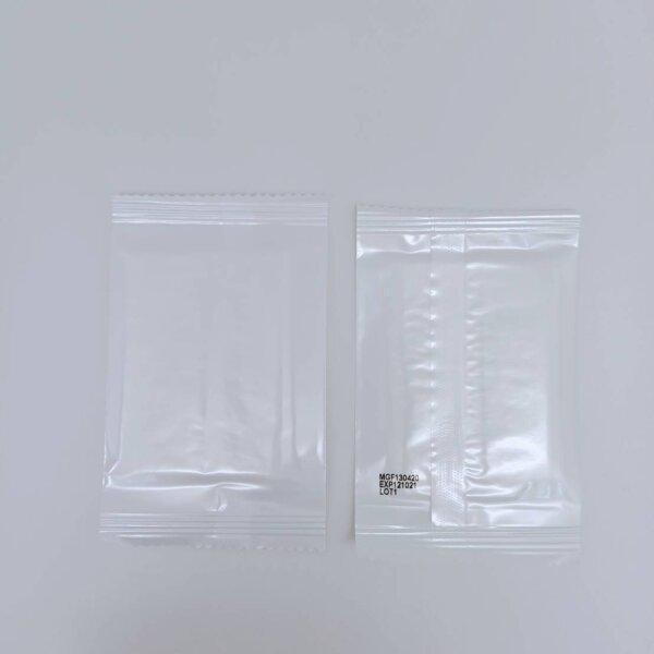 ผ้าเย็นเช็ดมือ ไซซ์ S รุ่นมีน้ำหอม 100 ชิ้น (ซองขาว ไม่มีโลโก้)