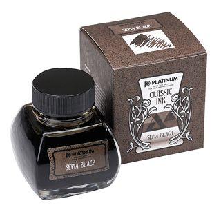 Platinum Classic Ink - Sepia Black (60cc.)