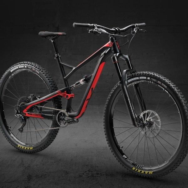 YT JEFFSY 29 AL COMP - BLACK PEARL/BLOOD RED (2018 MODEL)