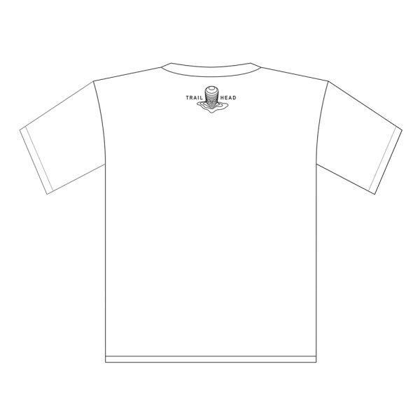 Trailhead T Shirt White - We shred Logo