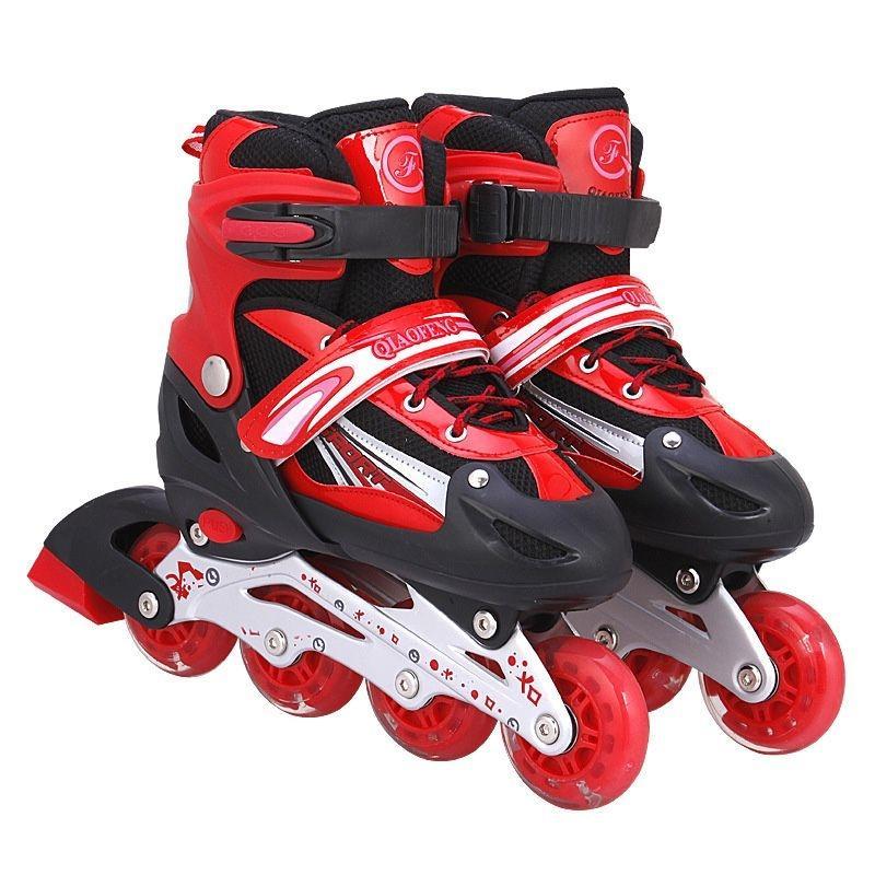 รองเท้าสเก็ตรุ่น QI-Sport สีแดง size S,M,L