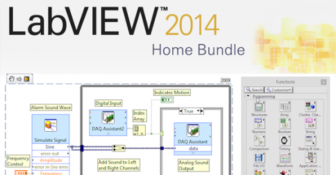LabVIEW Home Edition สำหรับ LabVIEW Maker