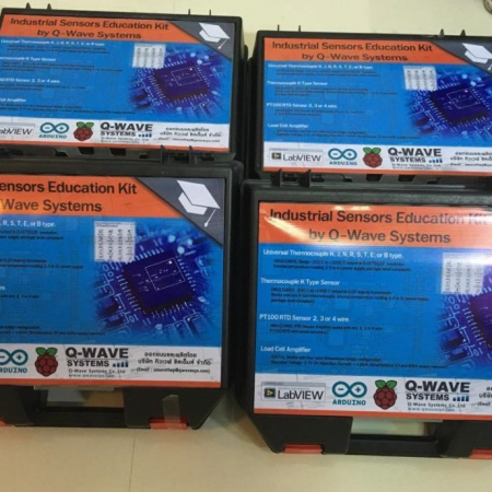 QwaveSys Industrial Sensors Education Kit
