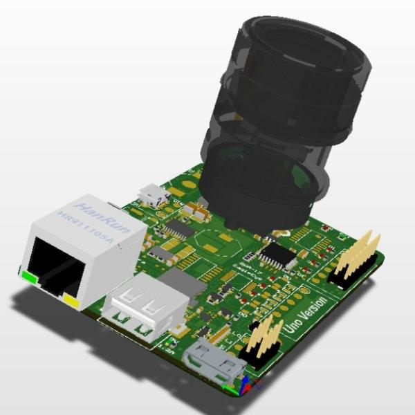 2.SmartCamera(EagleEye)_Uno (PCB Board Only)
