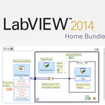 LabVIEW Home Edition ลิขสิทธิ์แท้ (*รับ Activate Code ทางอีเมล์)