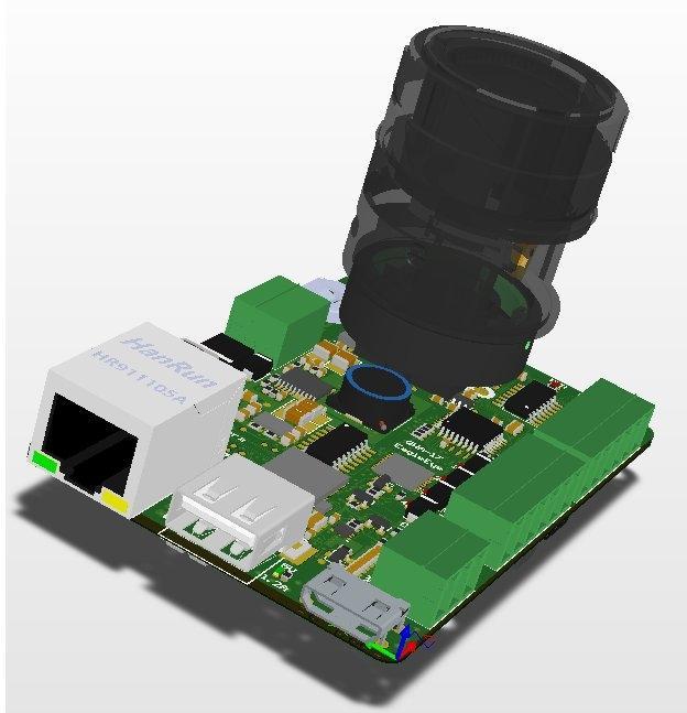 3.SmartCamera(EagleEye)_Industrial (PCB Board Only)