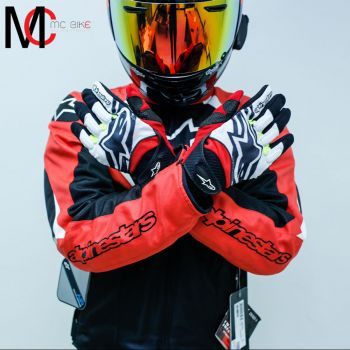 Spartan Gloves Black (Black Red White Yellow)
