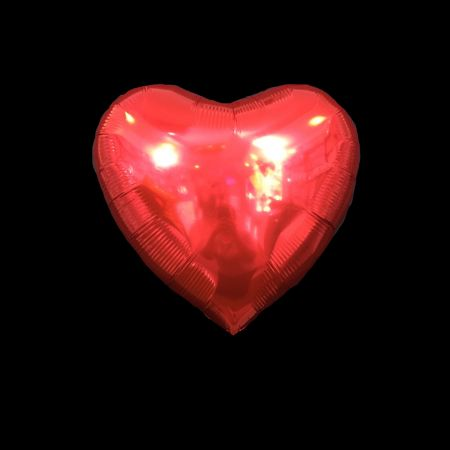 ลูกโป่งรูปหัวใจ 25นิ้ว สีแดง