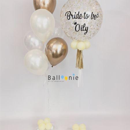 ลูกโป่ง Bride to be
