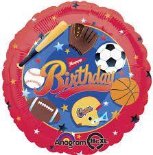 ลูกโป่ง Happy Birthday Sport