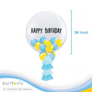 ลูกโป่ง Jumbo Balloon 36นิ้ว+Balloon