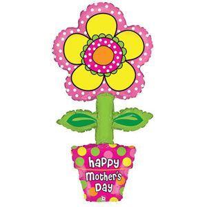 ลูกโป่ง Happy Birthday ต้นไม้ดอกไม้