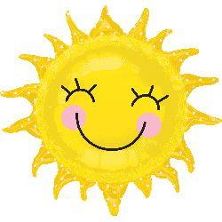 ลูกโป่งฟรอยด์ พระอาทิตย์ยิ้มแฉ่ง