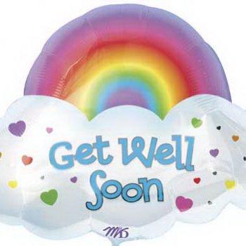 ลูกโป่ง Get well soon