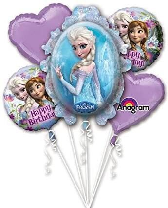 frozen happy birthday 5 ใบ