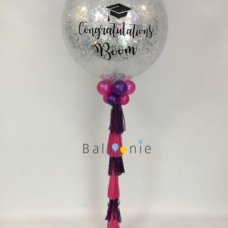 ลูกโป่ง Jumbo Balloon 36นิ้ว+gliter