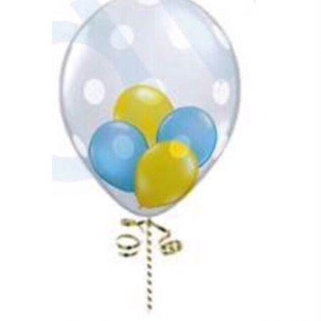 ลูกโป่งลาย 18 นิ้ว balloon in balloon
