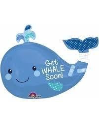 ลูกโป่งฟอยล์ปลาวาฬ
