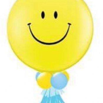 Jumbo balloon 36 นิ้ว หน้ายิ้ม