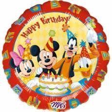ลูกโป่ง HBD Mickey&Friends