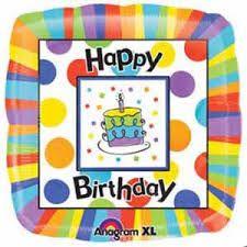 ลูกโป่ง Happy Birthday ปาร์ตี้