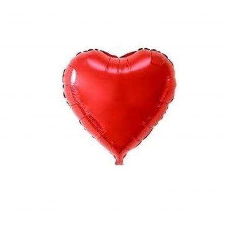 ลูกโป่งรูปหัวใจ 25นิ้วสีแดง