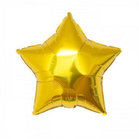 ลูกโป่งรูปดาว 25 นิ้ว สีทอง