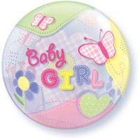 ลูกโป่ง bubble baby girl