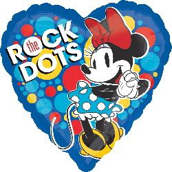 ลูกโป่ง Mickey Mouse the rock dot