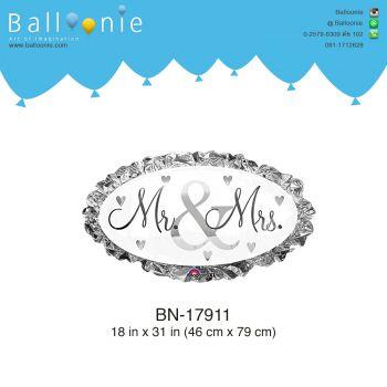 ลูกโป่งความรัก Mr&Mrs;.