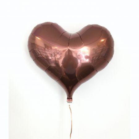 ลูกโป่งหัวใจ ibrex 18 นิ้ว สีชอคโกแลต