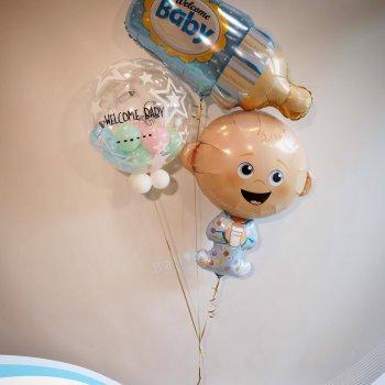 ลูกโป่ง เด็กแรกเกิด 01