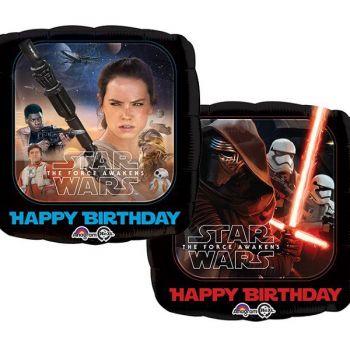 Happy birthday star war 2 side