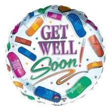 get well soon พลาสเตอร์