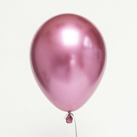 ลูกโป่ง Pink Chrome 12 นิ้ว