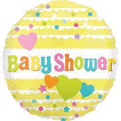 ลูกโป่ง Baby Shower สีเหลือง