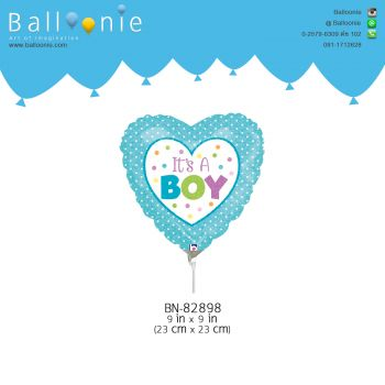 ลูกโป่ง mini Foil It'a A boy