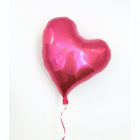 ลูกโป่งหัวใจ ibrex 18 นิ้ว สีชมพูเข้ม