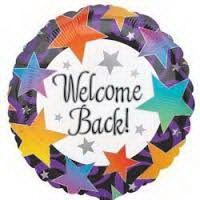 ลูกโป่ง Welcome back