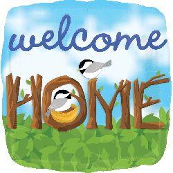 ลูกโป่ง welcome home