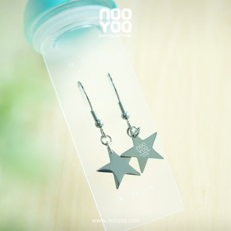 (30696) Hanging Star Surgical Steel