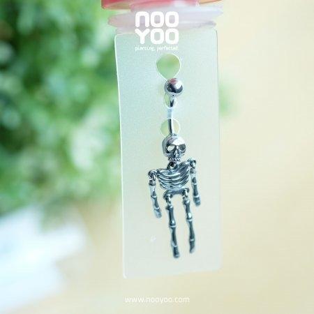 (30810) จิวสะดือ Skeleton Surgical Steel