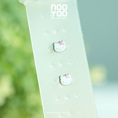 (30644) ต่างหู Hello Kitty Surgical Steel