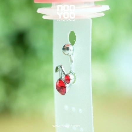(30754) จิวสะดือ Cherry Surgical Steel