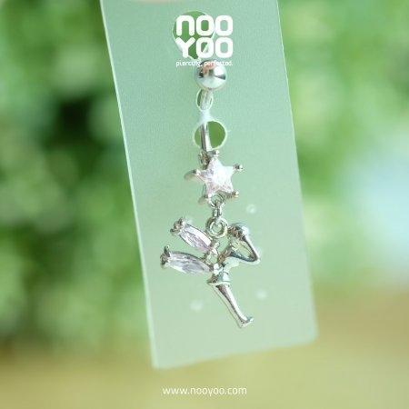 (30308) จิวสะดือ Dangle Star/Fairy Pink